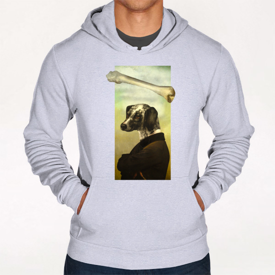 A Dog's Dream Hoodie by DVerissimo