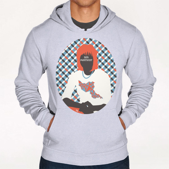 HER PORTRAIT Hoodie by Francis le Gaucher