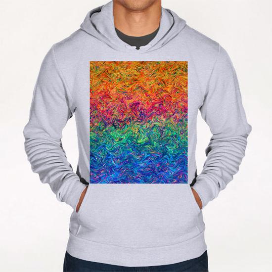 Fluid Colors G2 Hoodie by MedusArt