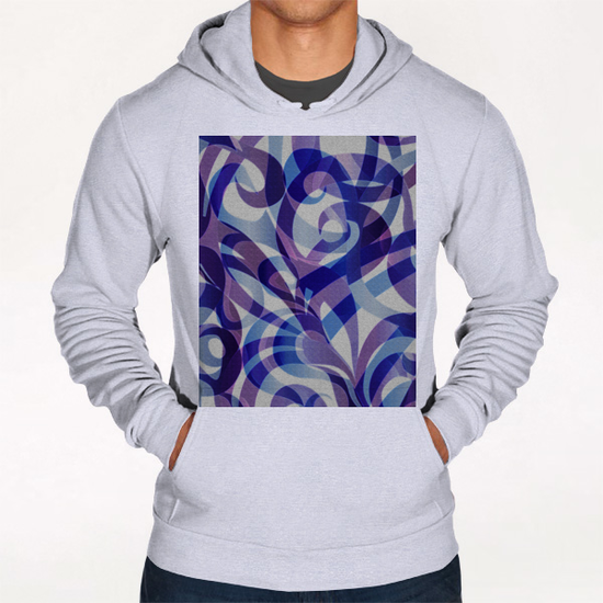 Floral Abstract G4 Hoodie by MedusArt