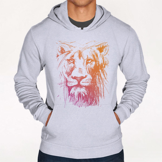 Lion Hoodie by Georgio Fabrello