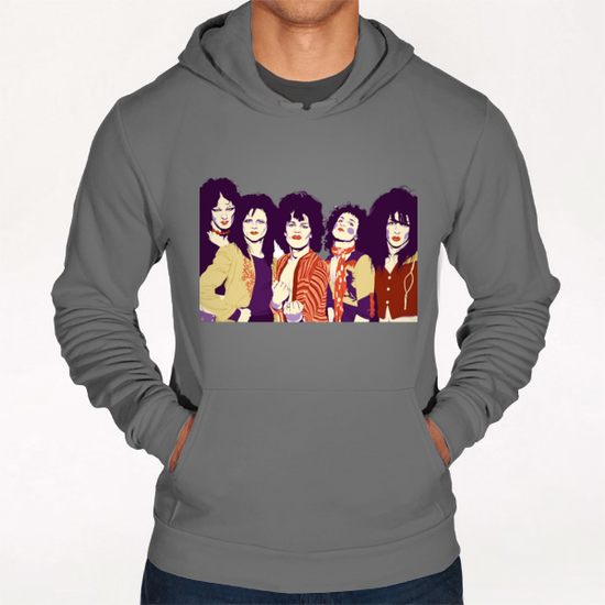 NEW YORK DOLLS Hoodie by Francis le Gaucher