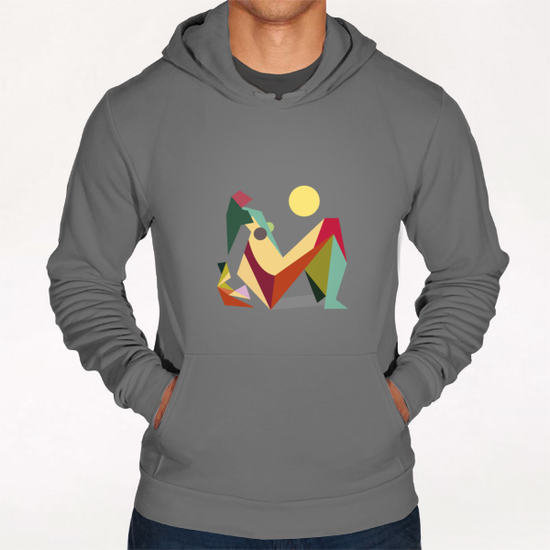 Glaring Sunlight Hoodie by Vic Storia