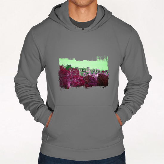 Roofs in Montmartre Hoodie by Malixx