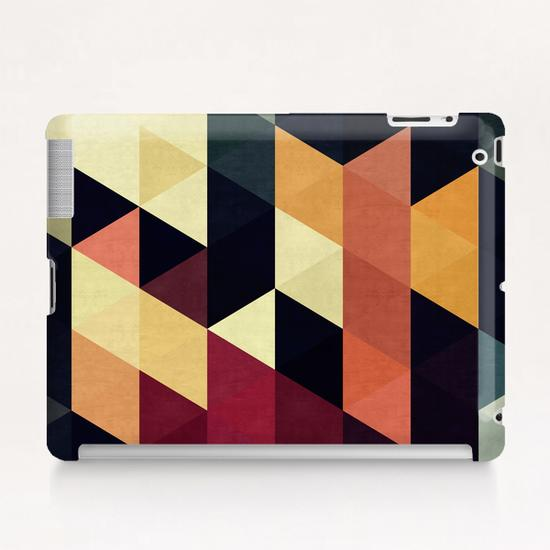 Pattern cosmic triangles Tablet Case by Vitor Costa