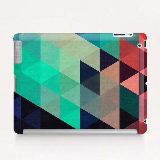 Pattern cosmic triangles I Tablet Case by Vitor Costa