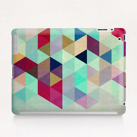 Pattern cosmic triangles II Tablet Case by Vitor Costa