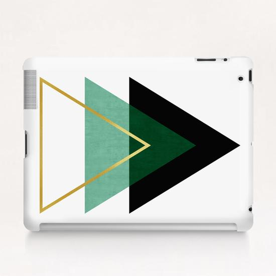 Geometric and golden art I Tablet Case by Vitor Costa