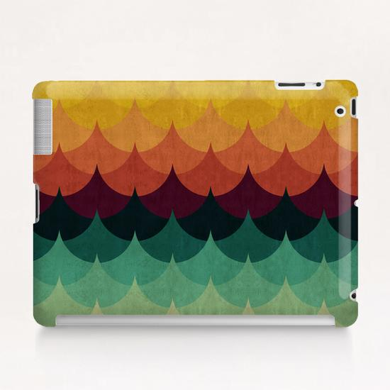Waves at sunset Tablet Case by Vitor Costa