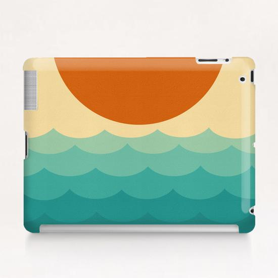 Minimalist sunset Tablet Case by Vitor Costa