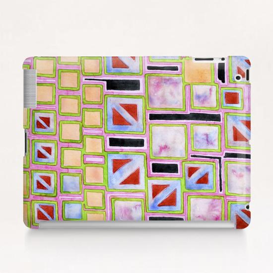 Composition out of Three Kind of Squares Tablet Case by Heidi Capitaine
