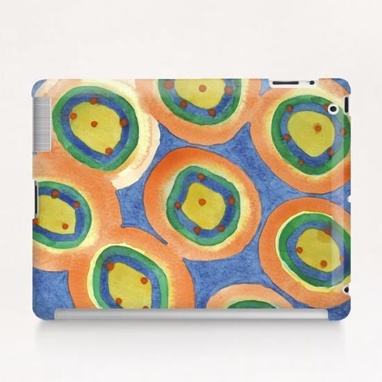 . Merry Circles arranged  to a big Circle  Tablet Case by Heidi Capitaine