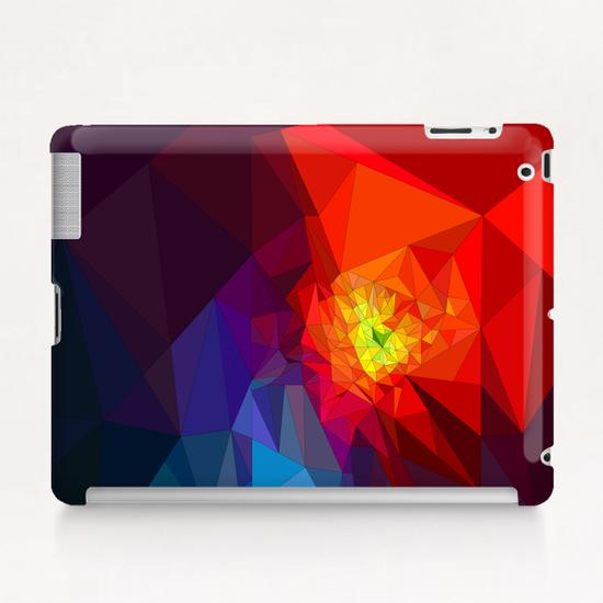 Colorful Triangles Tablet Case by PIEL Design