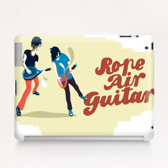 ROPE AIR GUITAR Tablet Case by Francis le Gaucher