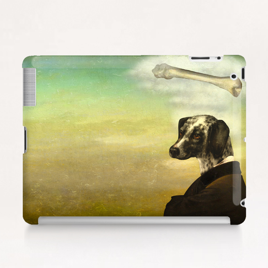 A Dog's Dream Tablet Case by DVerissimo