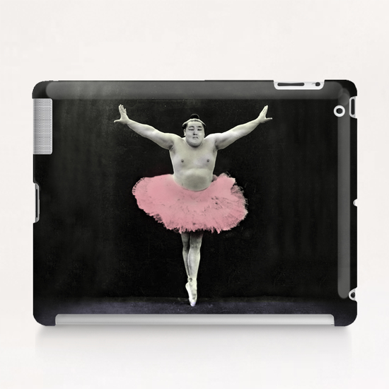 Sumo Ballet Tablet Case by tzigone