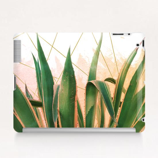 Cactus with geometric Tablet Case by mmartabc