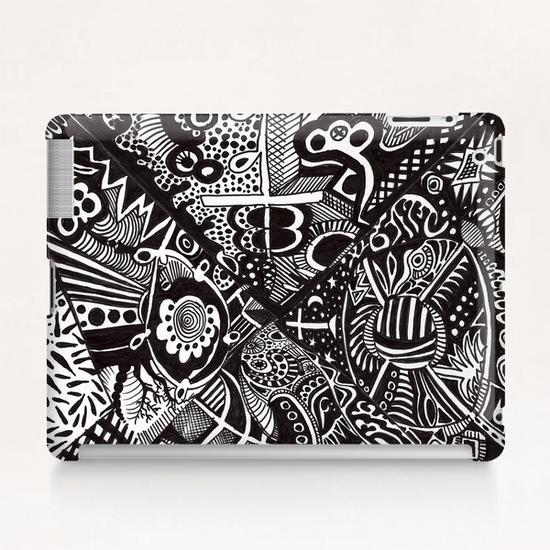 Mandala personnel Tablet Case by Denis Chobelet
