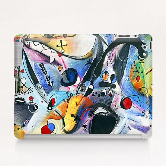 Joyeux paysage Tablet Case by Denis Chobelet