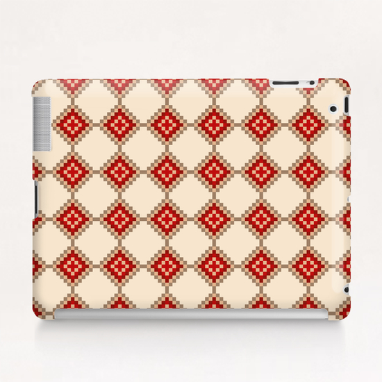 Pixelated Christmas Tablet Case by PIEL Design