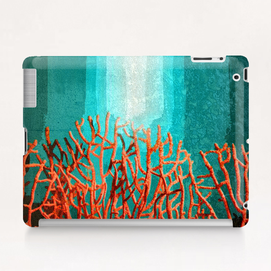 Red Coral Tablet Case by Malixx