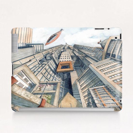 Downtown Tablet Case by Davide Magliacano