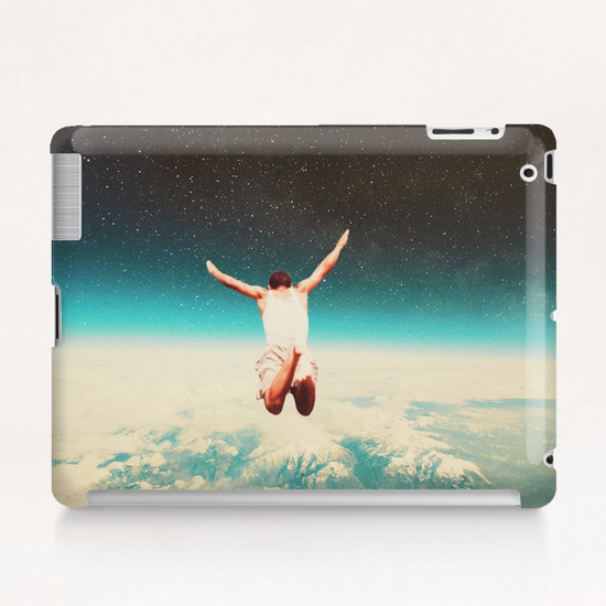 Falling With A Hidden Smile Tablet Case by Frank Moth