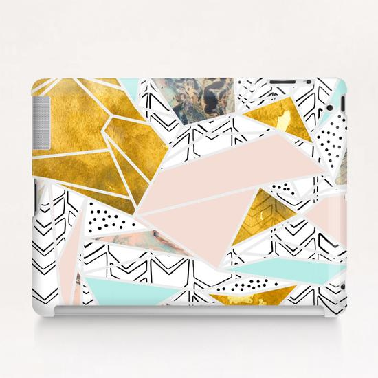 Geometric and textures Tablet Case by mmartabc