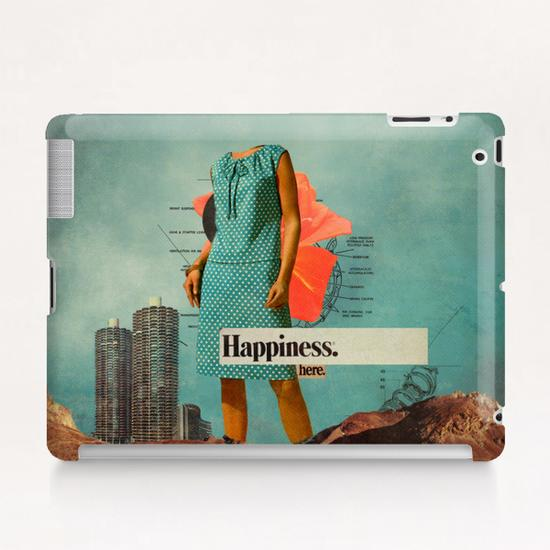 Happiness Here Tablet Case by Frank Moth