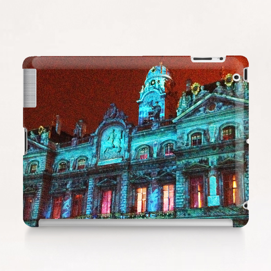 City Hall of Lyon Tablet Case by Ivailo K