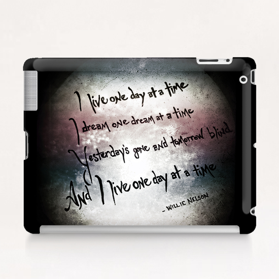 One Day at a Time Tablet Case by Trish Mistric
