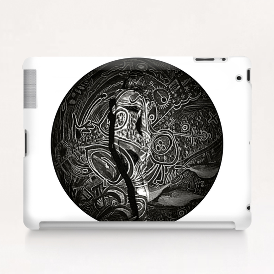 Lina # 9 Tablet Case by Denis Chobelet