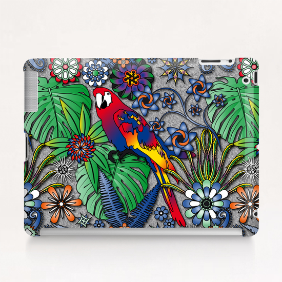 Jungle Flowers Tablet Case by vannina