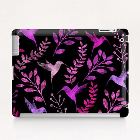 Watercolor Floral and Bird  Tablet Case by Amir Faysal