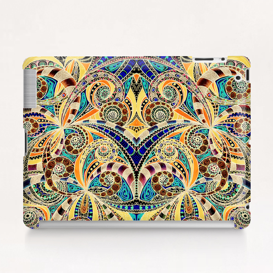 Drawing Floral Zentangle G1 Tablet Case by MedusArt