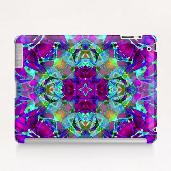 kaleidoscope Floral Abstract G16 Tablet Case by MedusArt