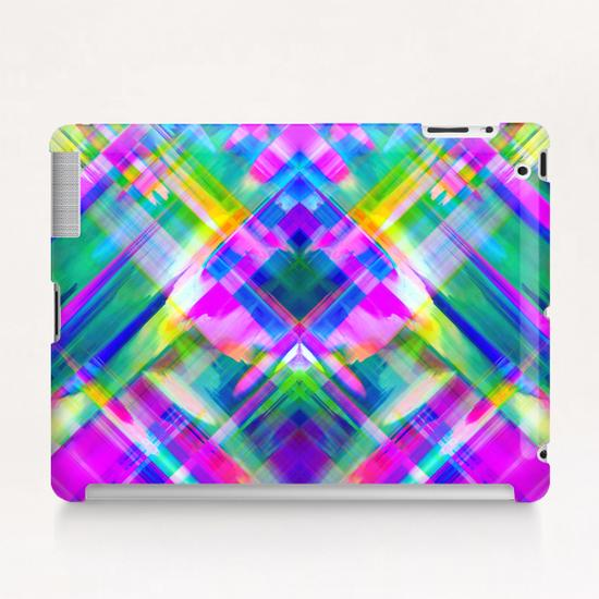 Colorful digital art splashing G469 Tablet Case by MedusArt