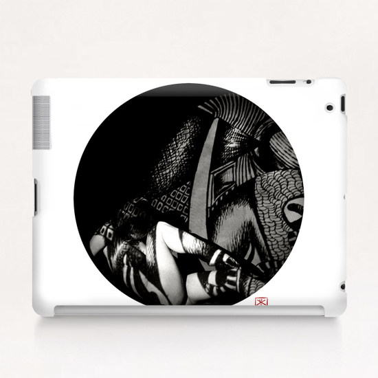 Lina 4 Tablet Case by Denis Chobelet