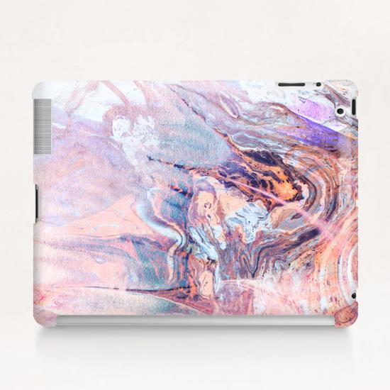 Multicolored saturated marble Tablet Case by mmartabc