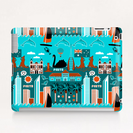 Perth Lifestyle Tablet Case by vannina