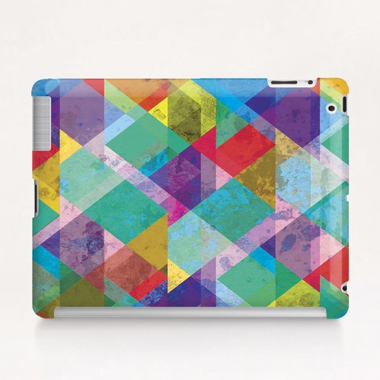 Round The Corner Tablet Case by Alex Xela