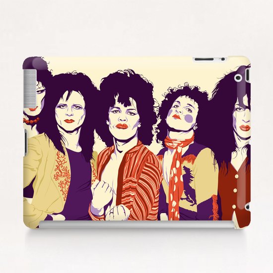 NEW YORK DOLLS Tablet Case by Francis le Gaucher