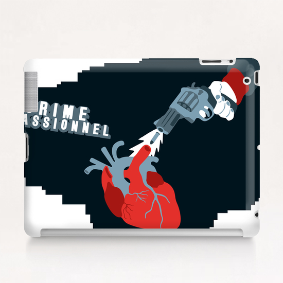 CRIME OF PASSION Tablet Case by Francis le Gaucher