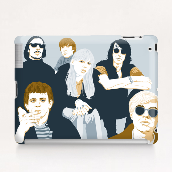 VELVET UNDERGROUND Tablet Case by Francis le Gaucher