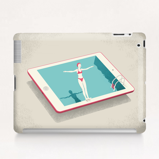 Happiness Tablet Case by Andrea De Santis