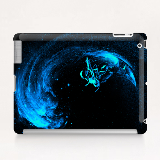 Space Surfing Tablet Case by Nicebleed