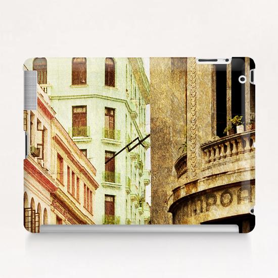 Street In Cuba Tablet Case by fauremypics