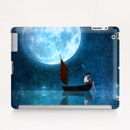 The Moon And Me Tablet Case by DVerissimo