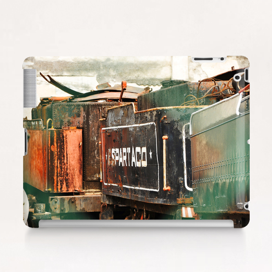 Train Cemetery Tablet Case by fauremypics