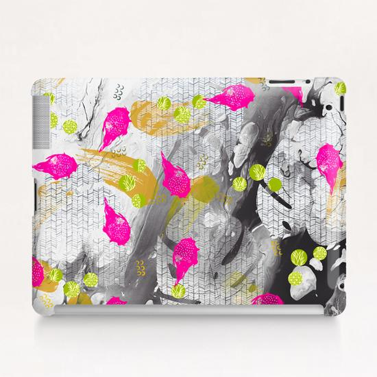 Tropical marble abstract Tablet Case by mmartabc